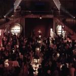 Diner de mariage dans la Salle des Chais du Domaine de la Noria à Montpellier